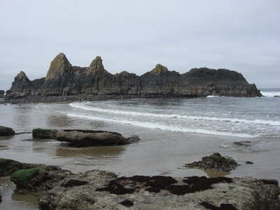 Another shot of the beach at Seal Rock, Waldport.