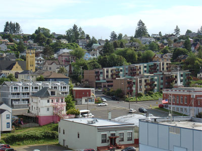 The hills of Astoria