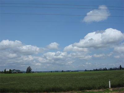 Heading toward Corvallis
