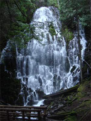 This is the last waterfall picture I'll inflict on you